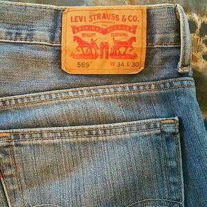 Levi 569 jeans